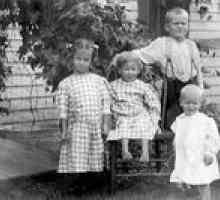 Roupas infantis em 1915