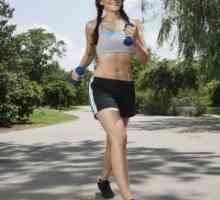 Você pode obter uma barriga lisa apenas andando e indo em uma dieta?
