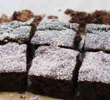 Flourless do feijão preto Fudge Brownies