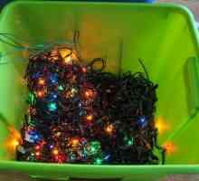 A melhor maneira de corda Luzes da árvore de Natal