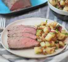 Como cozer carne do lombo Tri-Tip no Forno