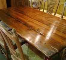Como para Polaco Móveis de madeira com lã de aço