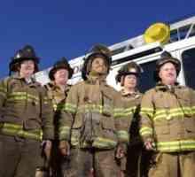 O salário médio de partida para bombeiros