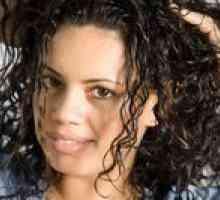 Diferentes maneiras de rolar cabelo para uma Perm