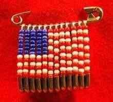 Fazendo Uma Bandeira Com Beads