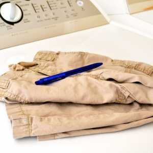 How to Get Ink Out of Khakis