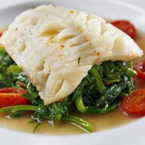 O que Vegetais Go With Halibut?